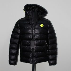 DSQUARED2 Bright Black Puffer Jacket